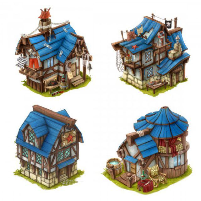 Концепты зданий 1