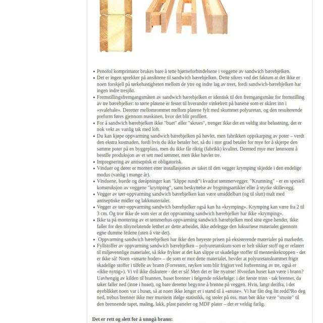 Локализация сайта (технол.) строительной компании на норвежский