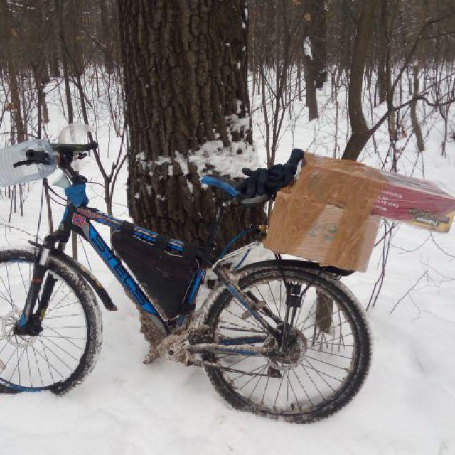 Разаозная доставка на велосипеде