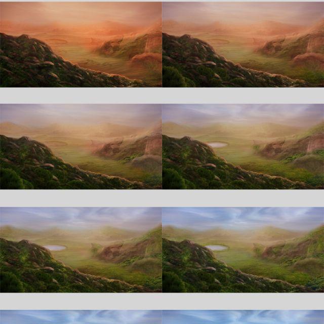 Поэтапное озеленение Марса. Иллюстрации