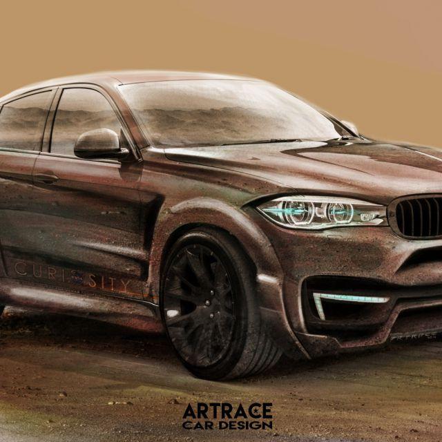 BMW X5 Mars Curiosity