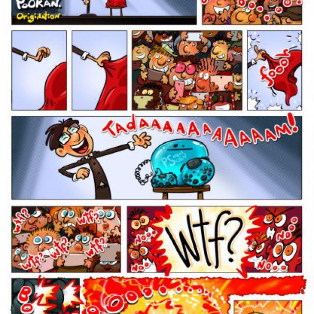 Пример мини-комикса