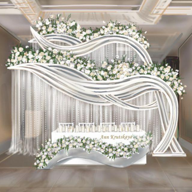 Президиум на свадьбу.