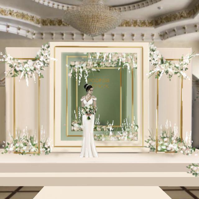 Фотозона на свадьбу.