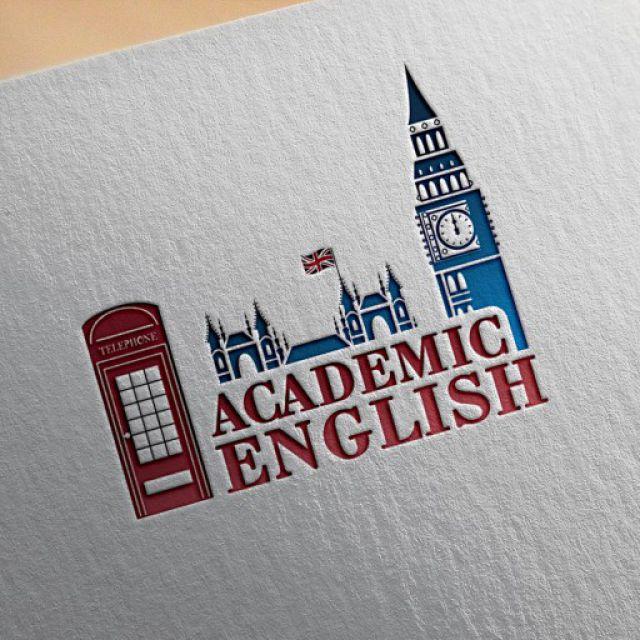 Логотип школы английского языка