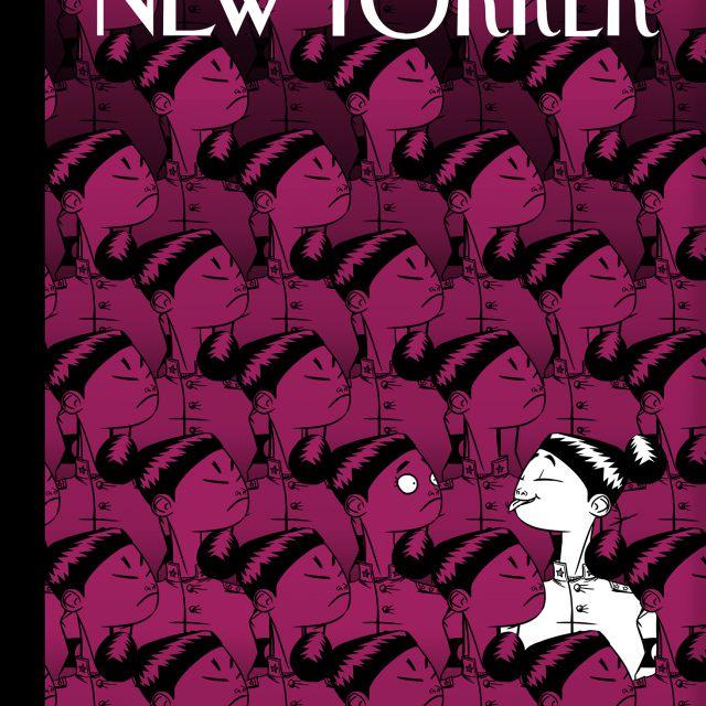 Фейковый арт для The New Yorker