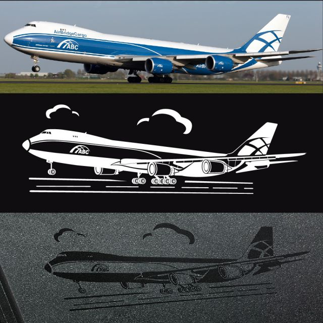 Контур самолета
