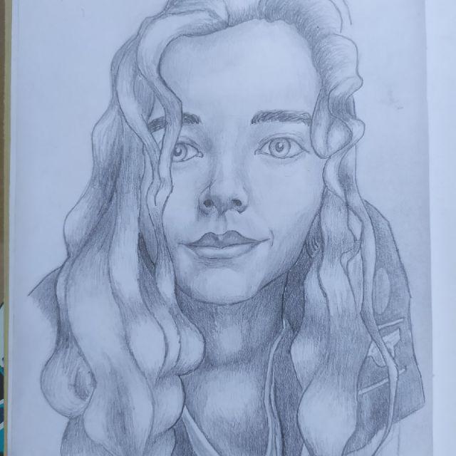 Портрет некой девушки №1