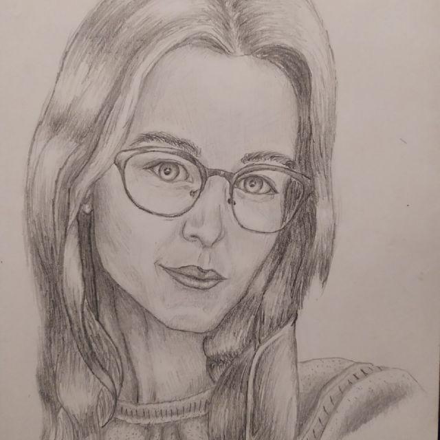 Портрет некой девушки №2