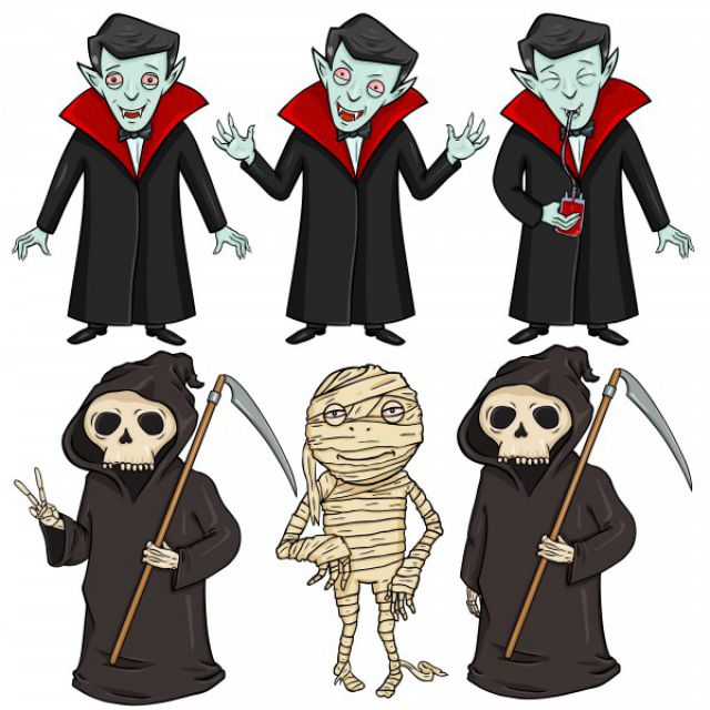 Персонажи: Хэллоуин
