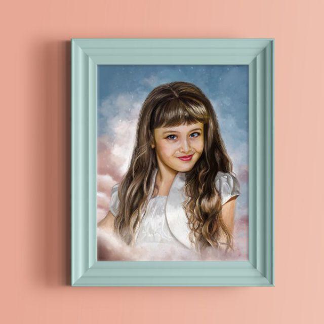 Детский цифровой портрет