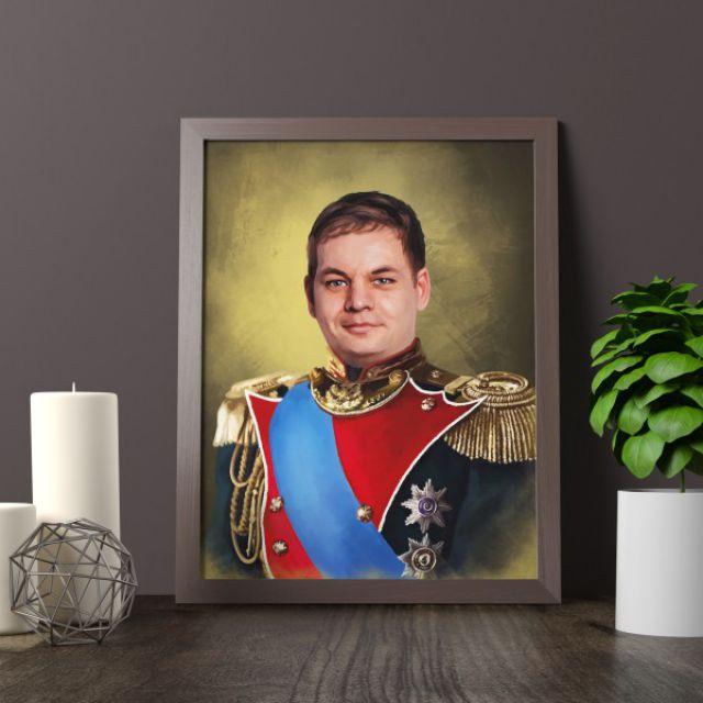 Мужской цифровой портрет