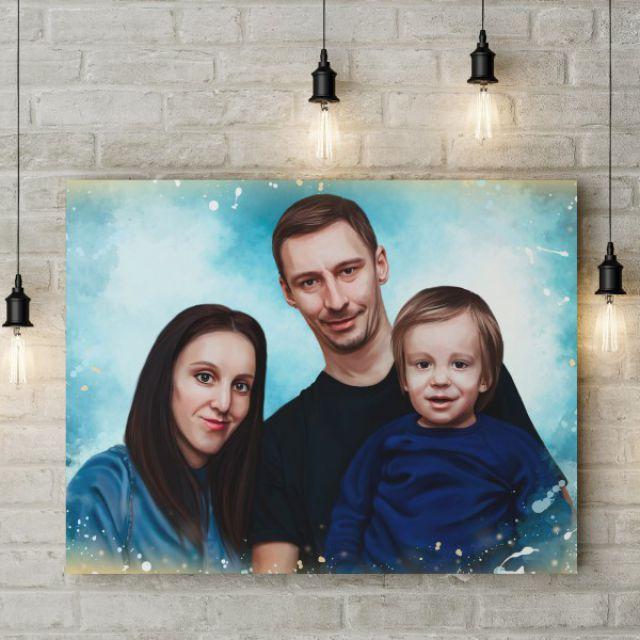 Семейный цифровой портрет