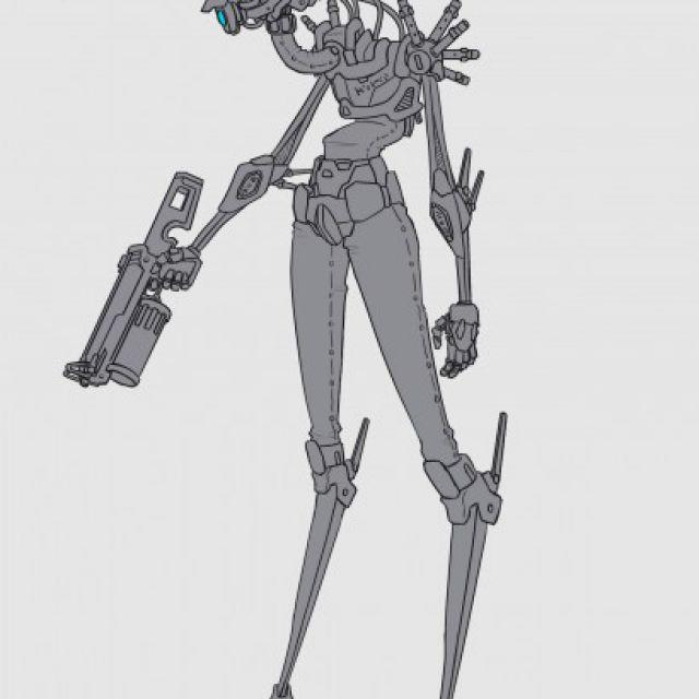 Инопланетный робот