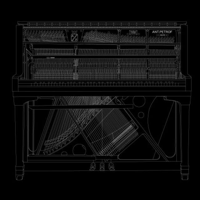 Внутри пианино
