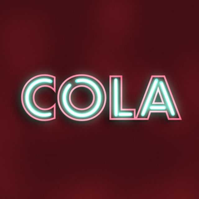 Cola neon