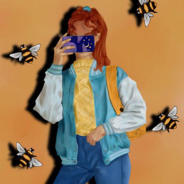 Девушка и пчелы