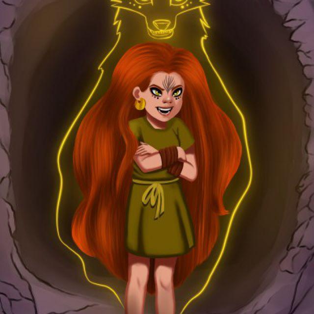 Отрисовка персонажа из мультфильма в моем стиле