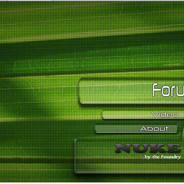 дизайн сайта nuke-vfx.com