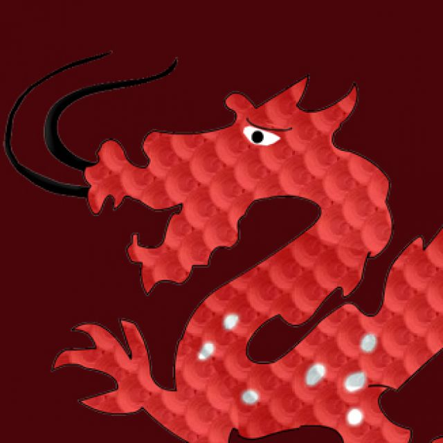 анимация дракона