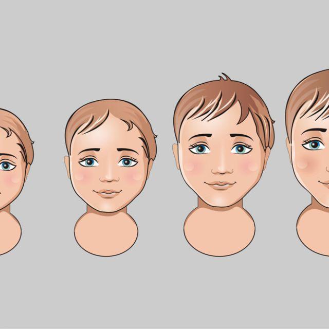 лица мальчиков