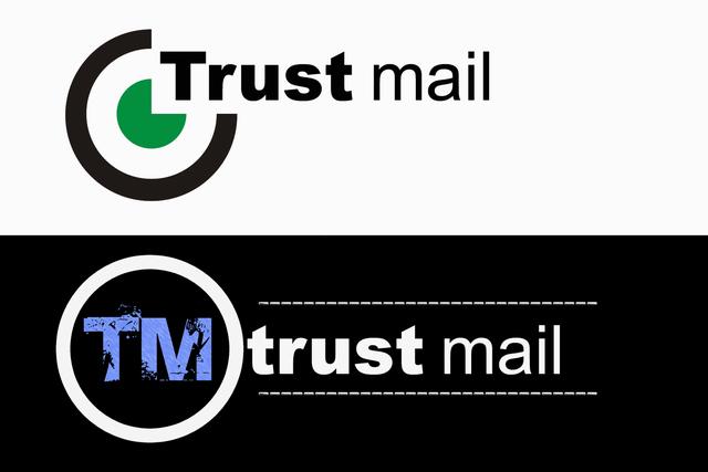 Логотип TrustMail.ru (Варианты 1и2)