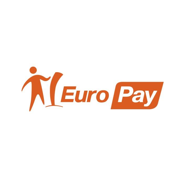логотип для терминалов оплаты EUROPAY