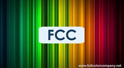 "Дизайн визитной карточки ""Full Color Company"". Вариант №1"