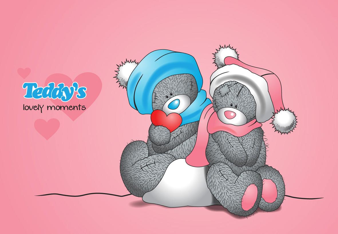 Teddy's lovely moments illustration