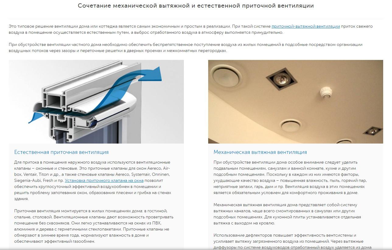 Системы вентиляции, кондиционирования и отопления