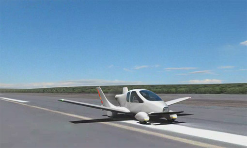 Пробный полет первого самолетомобиля состоится в следующем месяц