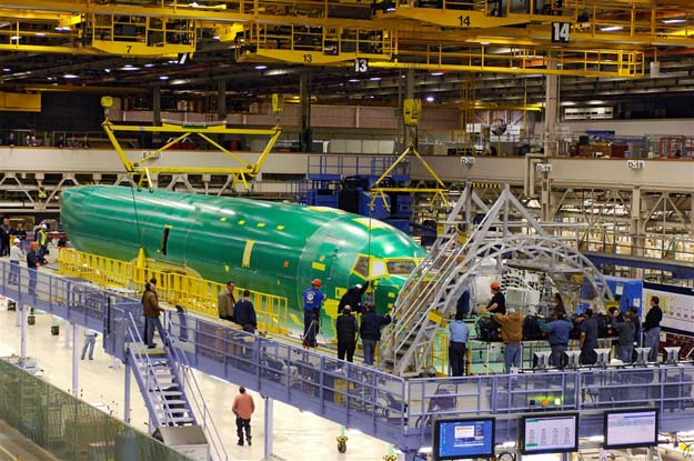 Boeing: чистка рядов