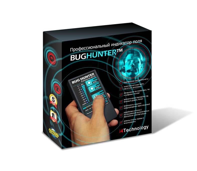 Упаковка для охранной системы BUGHUNTER