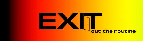 """Логотип для """"Exit"""""""
