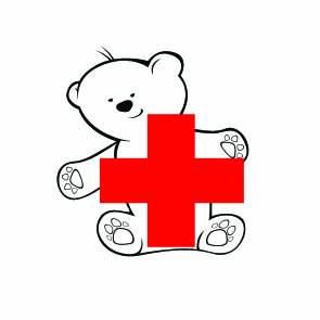 Логотип для детских программ красного креста в СПб