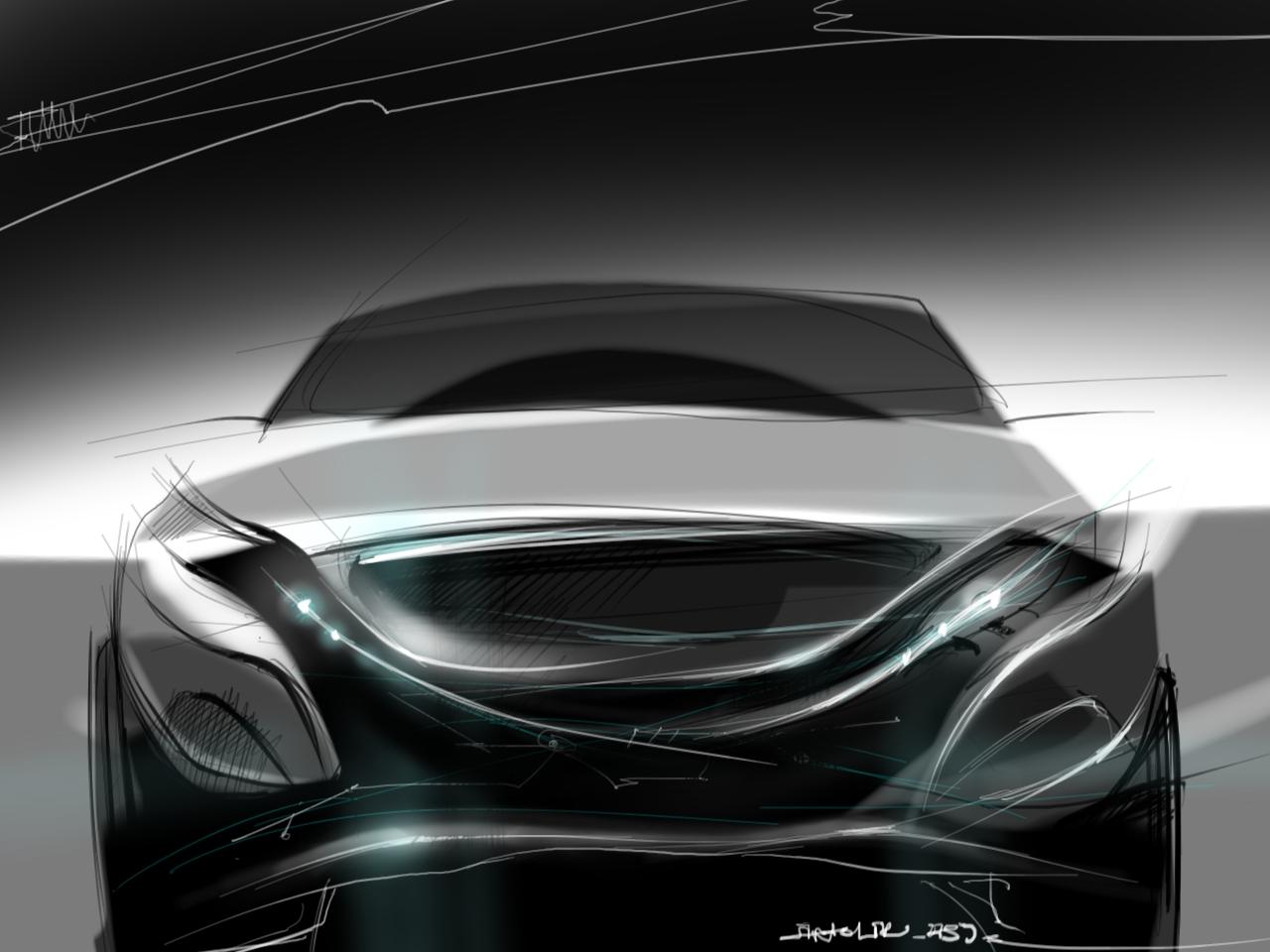 концепт автомобиля среднего класса
