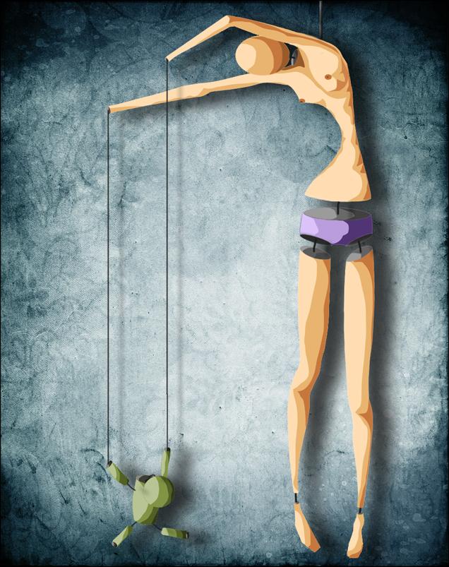 Марионетка, которая мечтала стать кукловодом