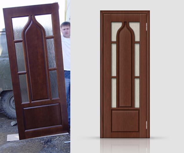 Отрисовка двери