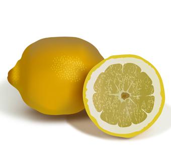лимон (mesh)