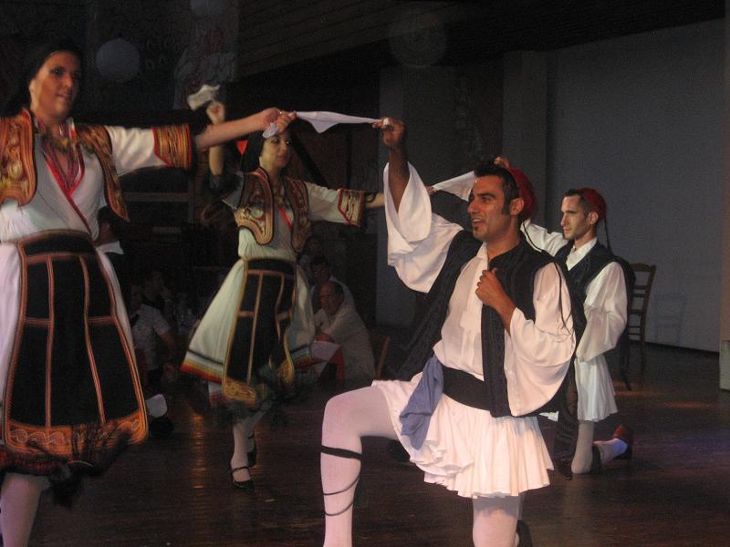 Греческие национальные танцы