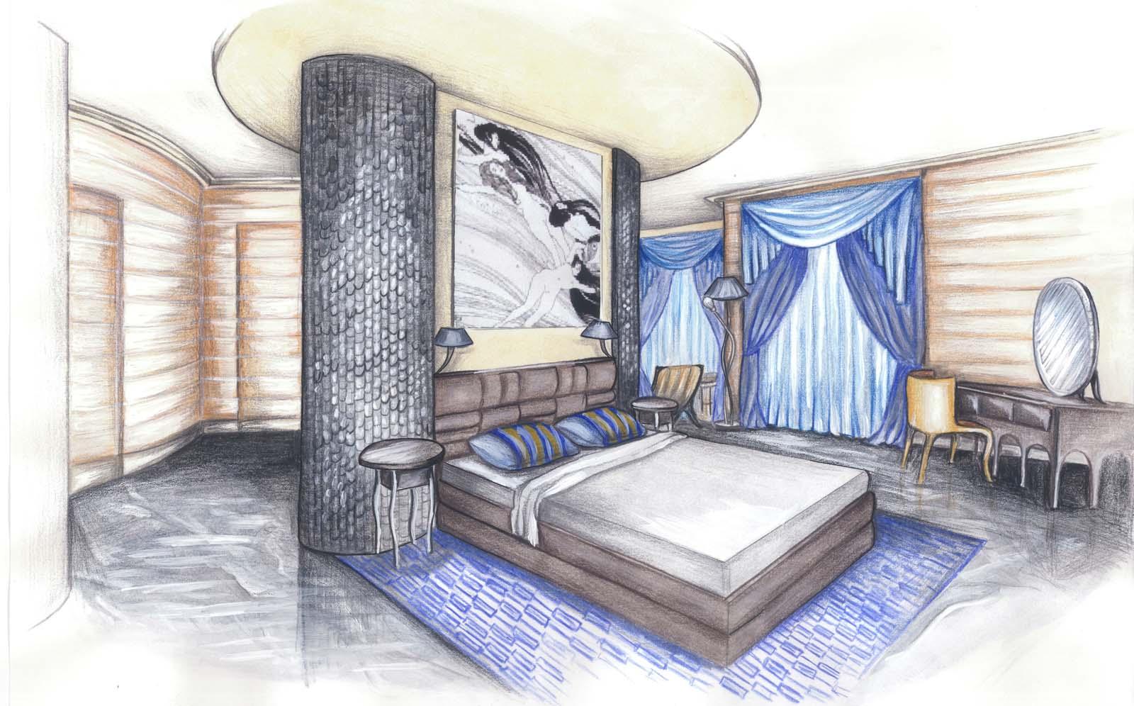 Рисунок на тему мебель будущего