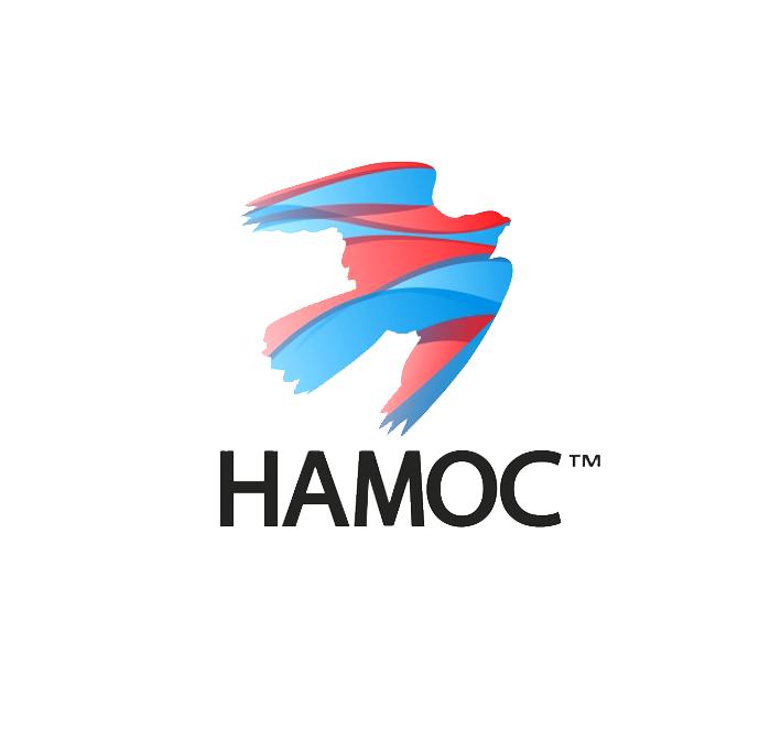 Логотип экологической компании Намос