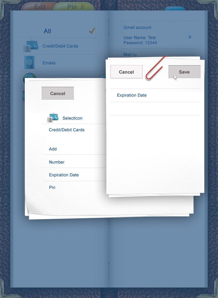 Дизайн для приложения IPhone
