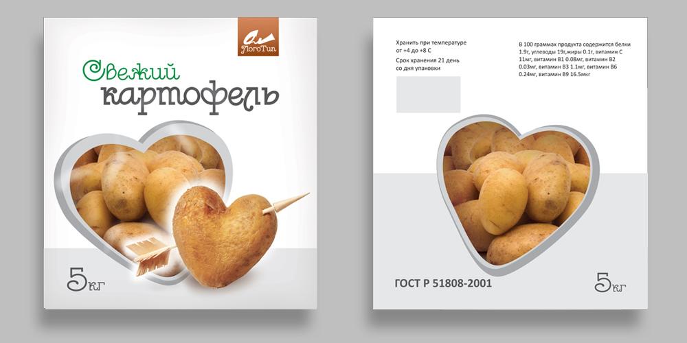 Упаковка для картофеля