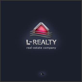 Редизайн логотипа L-REALTY элитная недвижимость