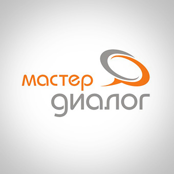 Логотип «Мастер Диалог» консалтинговой компании