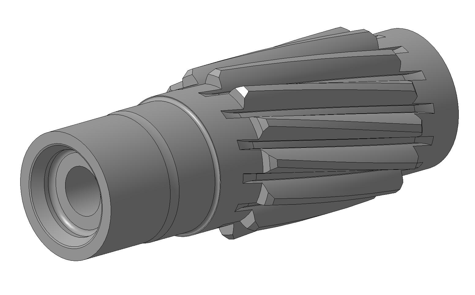 3D-модель_шестерня