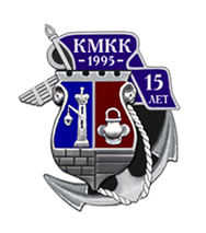 Эскиз знака «15 лет Кронштадтскому Морскому Кадетскому Корпусу»