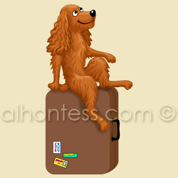 Рисунок собаки для приложения Samsung Galaxy Note