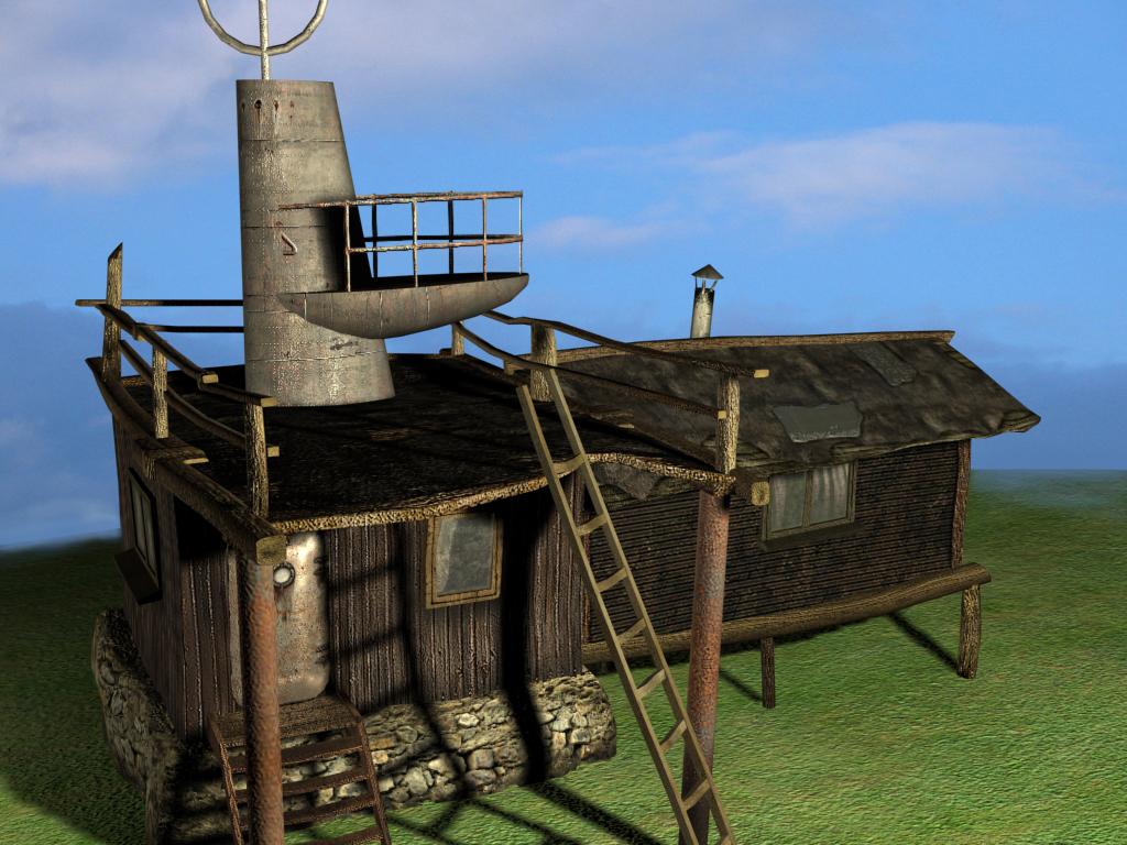 radioman's house